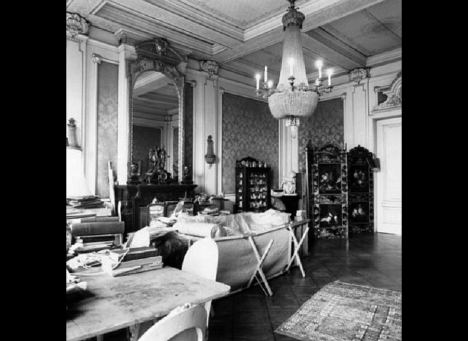 Herengracht 497 Interieur in 1971