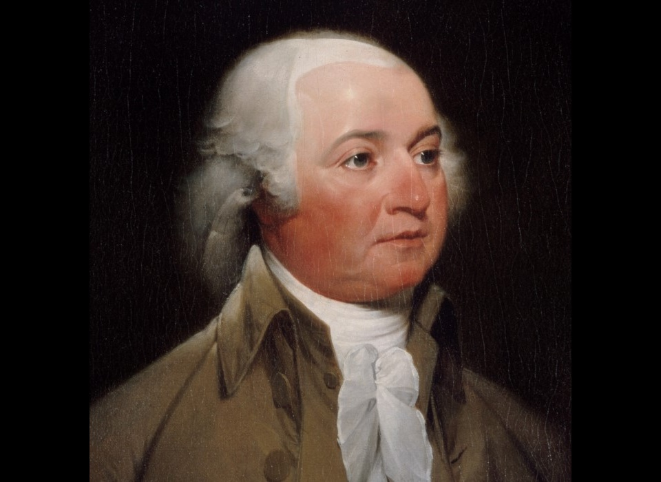 John Adams (1797) is eerst Amerikaans gezant en later president van Amerika